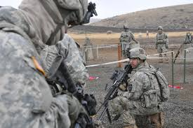 Fort Carson has been emptied out as the troops and equipment have been rolled out across Pinon Canyon destroying the land of private ranchers. the only operational troops that remain at Ft. Carson are the Russians.