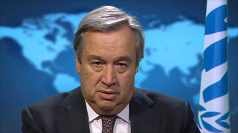 Antonio Guterres is the head of the UNHCR.