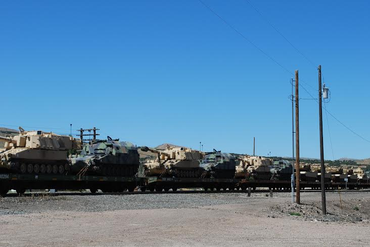 These tanks are for combat much more than they are for martial law. This is a common theme in terms of what I am being sent.