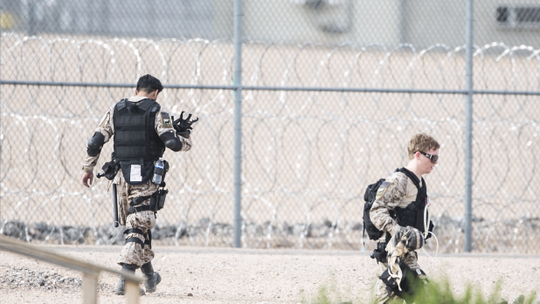 "Arizona Governor Ducey reported that  ""special forces"" were brought in to control the situation. Special forces? Since when are special forces used for a prison riot unless they are Jade Helm special forces and are training for ""other activities""."