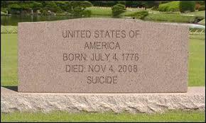 OBAMA DEATH OF AMERICA