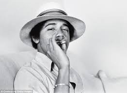 OBAMA SMOKING A JOINT