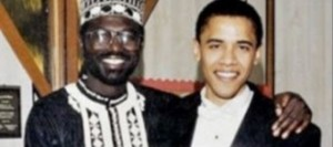 The President and his half-brother, Malik Obama.