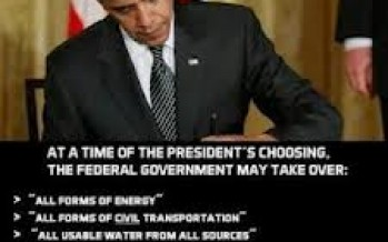 Obama Nationalizes All Food and This Will Force Millions of Americans Into FEMA Camps