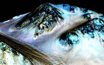 NASA ends cover-up and finally admits water flows on Mars… but still won't admit to proof of life on the red planet, known as a fact since 1976