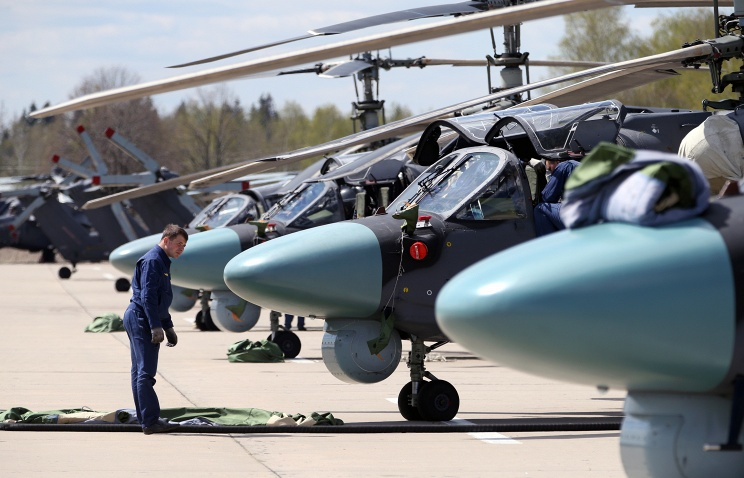 russian helicpters to egypt
