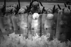 riot-control army
