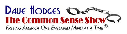Dave Hodges – The Common Sense Show Logo
