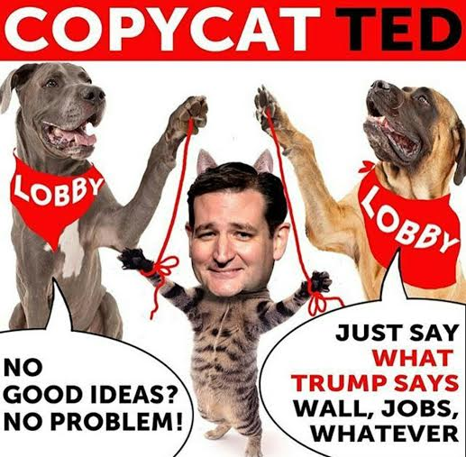lyin ted becomes copycat ted