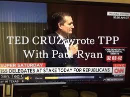 """I will bring jobs back to America"" Lyin' Ted"