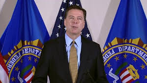 The FBI Director, James Comey. According to Cruz, he moved money from HSBC to the Clinton Foundation when he was on the board of HSBC.