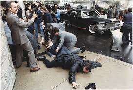 The Reagan assassination scene