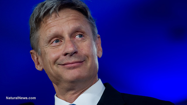 Libertarian candidate Gary Johnson just sold out to Big Pharma… says children should be forcibly injected with mercury at gunpoint… claims government 'science' overrides medical freedom