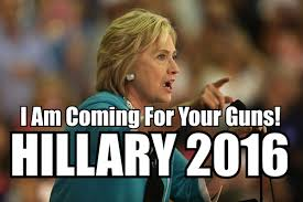 Clinton's Four-Point Gun Confiscation Plan Is Already Underway