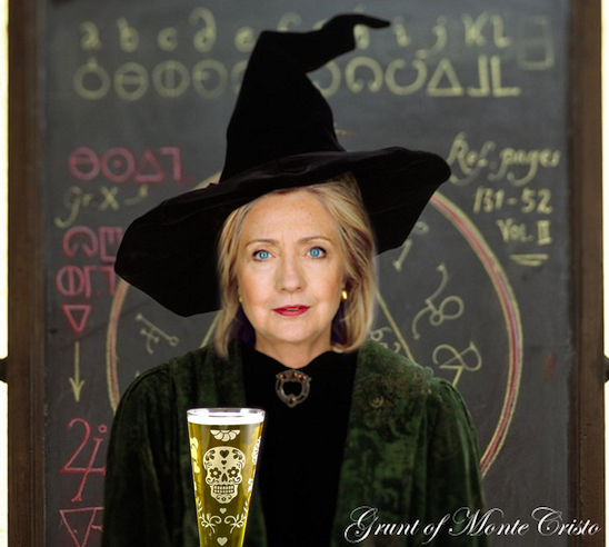 clinton the witch