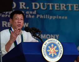 Philippines President turning his country away from the US and pivoting in the direction of China.