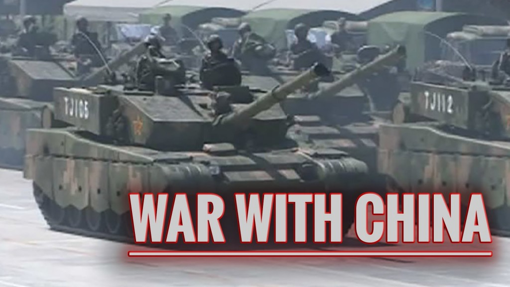 war with china