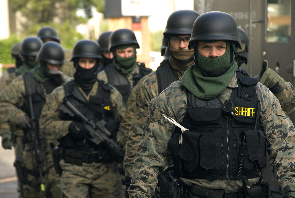18 State Swat Team Drill In Prep for Backlash Against a Stolen Election
