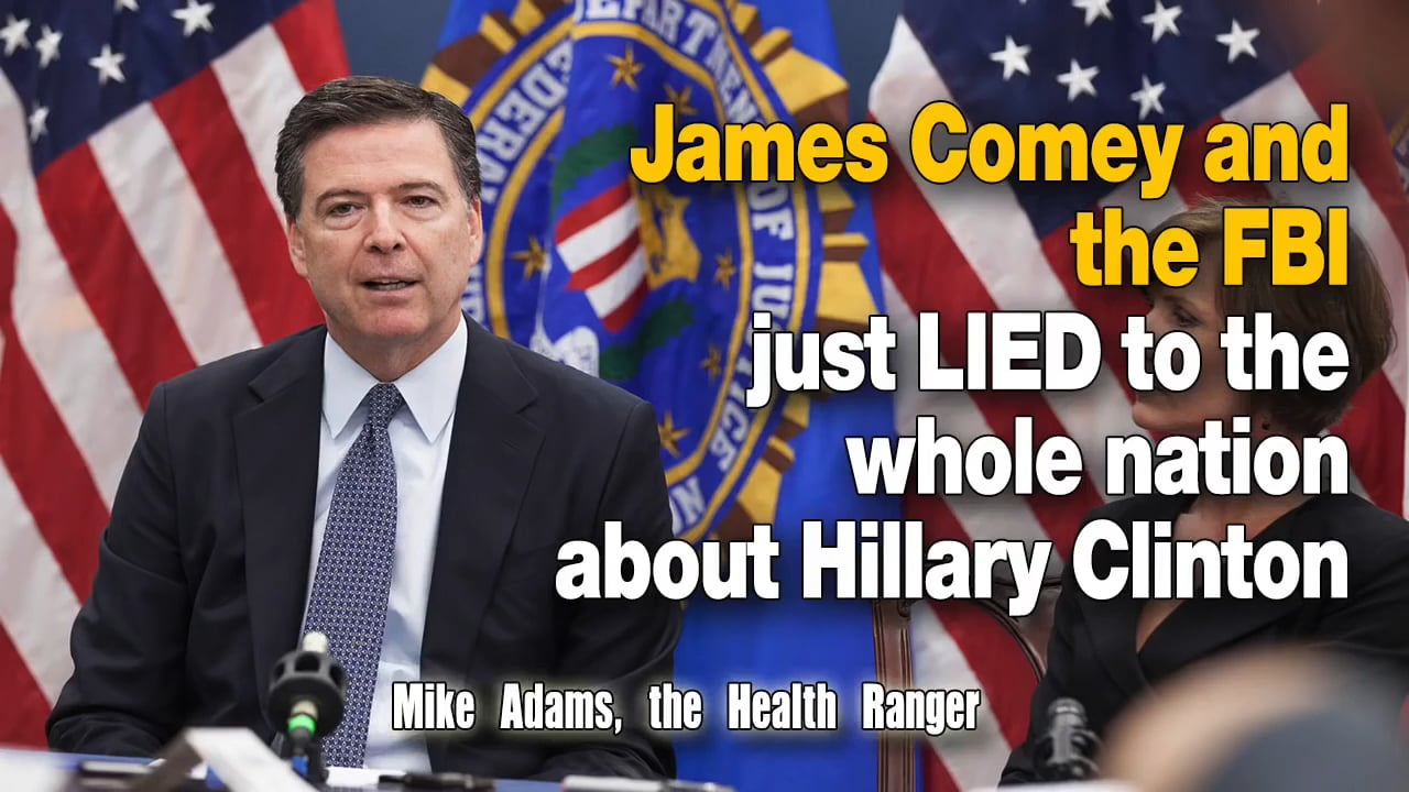 FBI Director Comey's Criminal Affiliations with the Clintons Explains Why He Is Lying to Congress