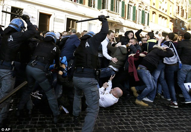 italians rioting